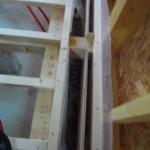 暖房器を設置する開口部です。
