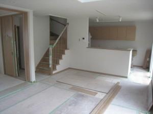 1階食堂、台所